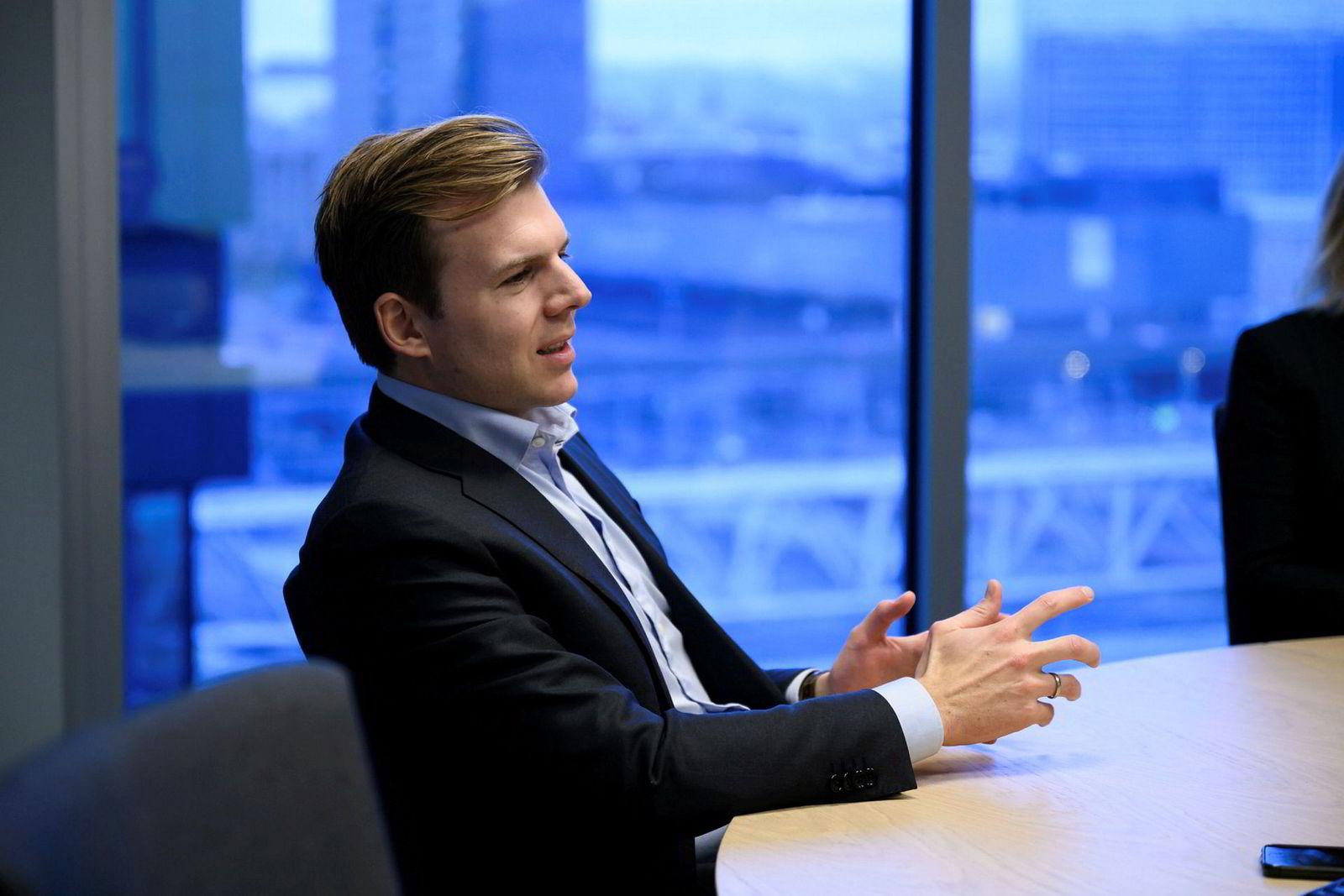 Meglersjef Tom Christian Jandal i DNB Markets.