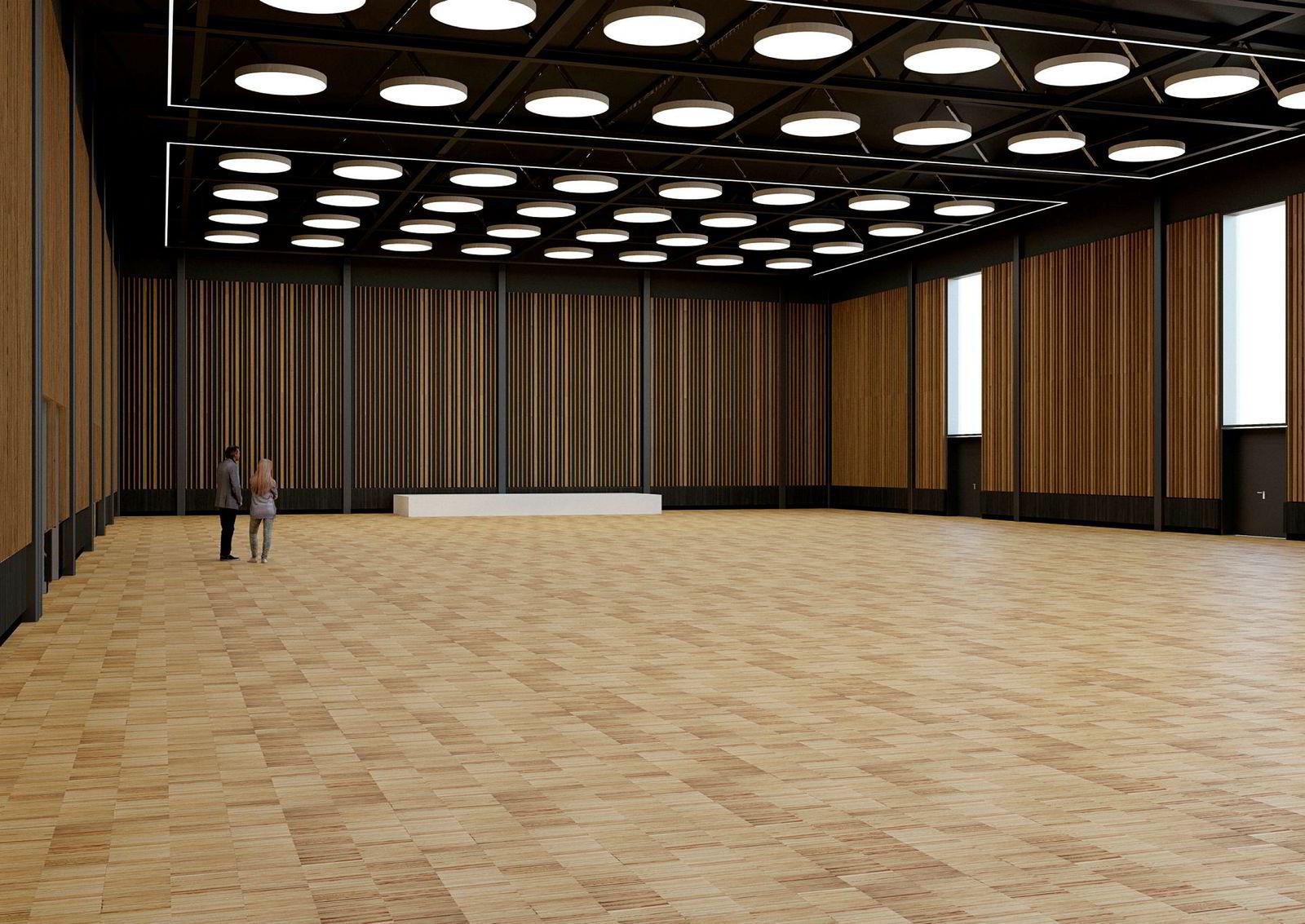 Sundvolden bygger ny kongresshall på 1260 kvadratmeter til 55 millioner kroner.