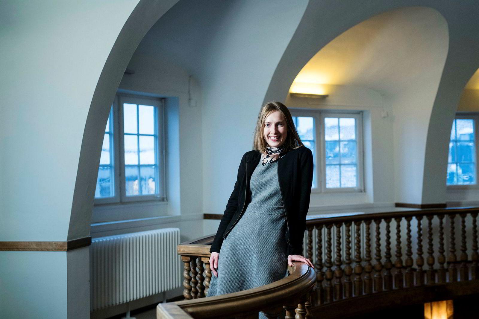 Forsknings- og høyere utdannelsesminister Iselin Nybø.