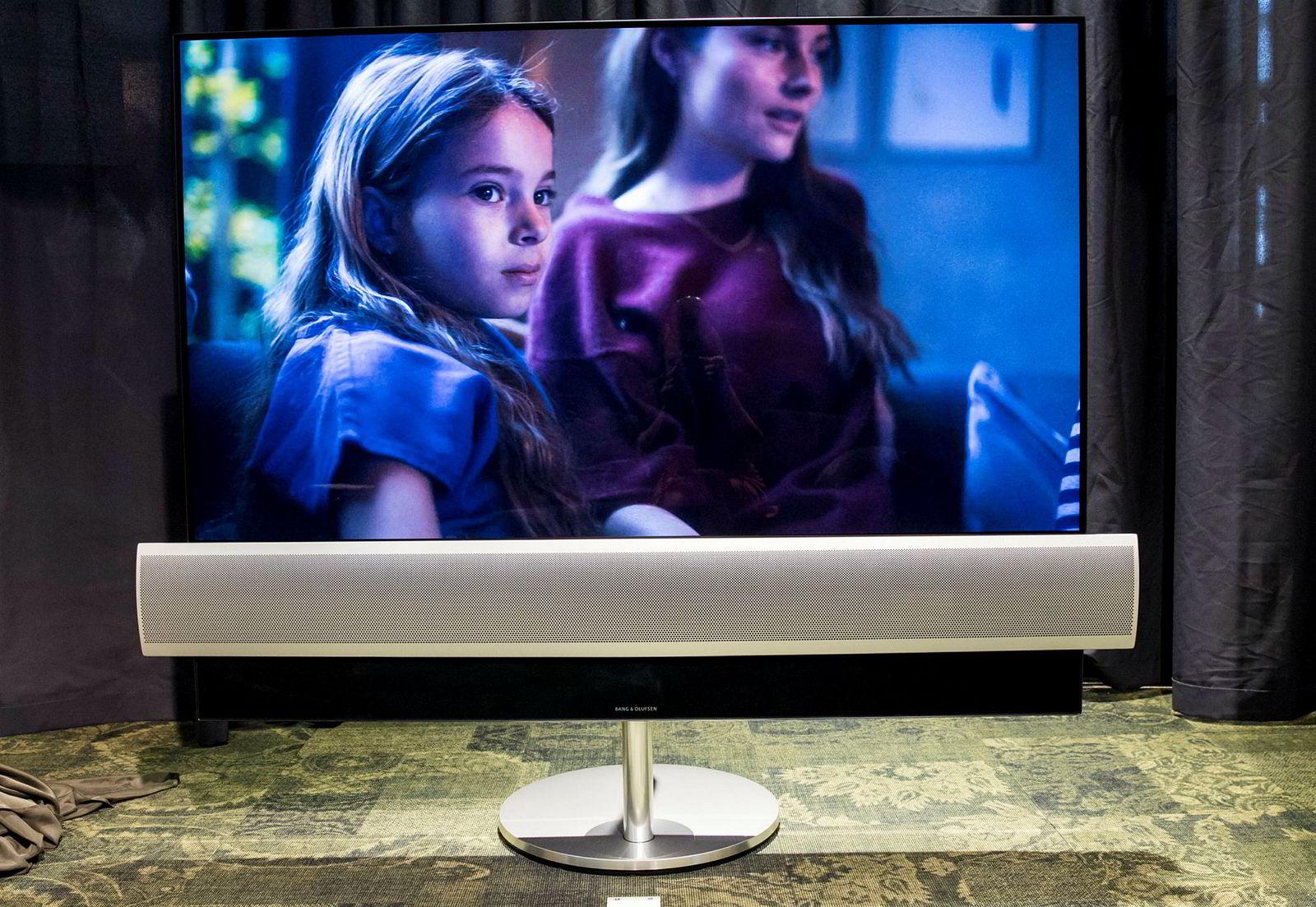 Bang & Olufsen Eclipse kombinerer LGs beste billedkvalitet og Bang & Olufsens hittil beste tv-lyd.