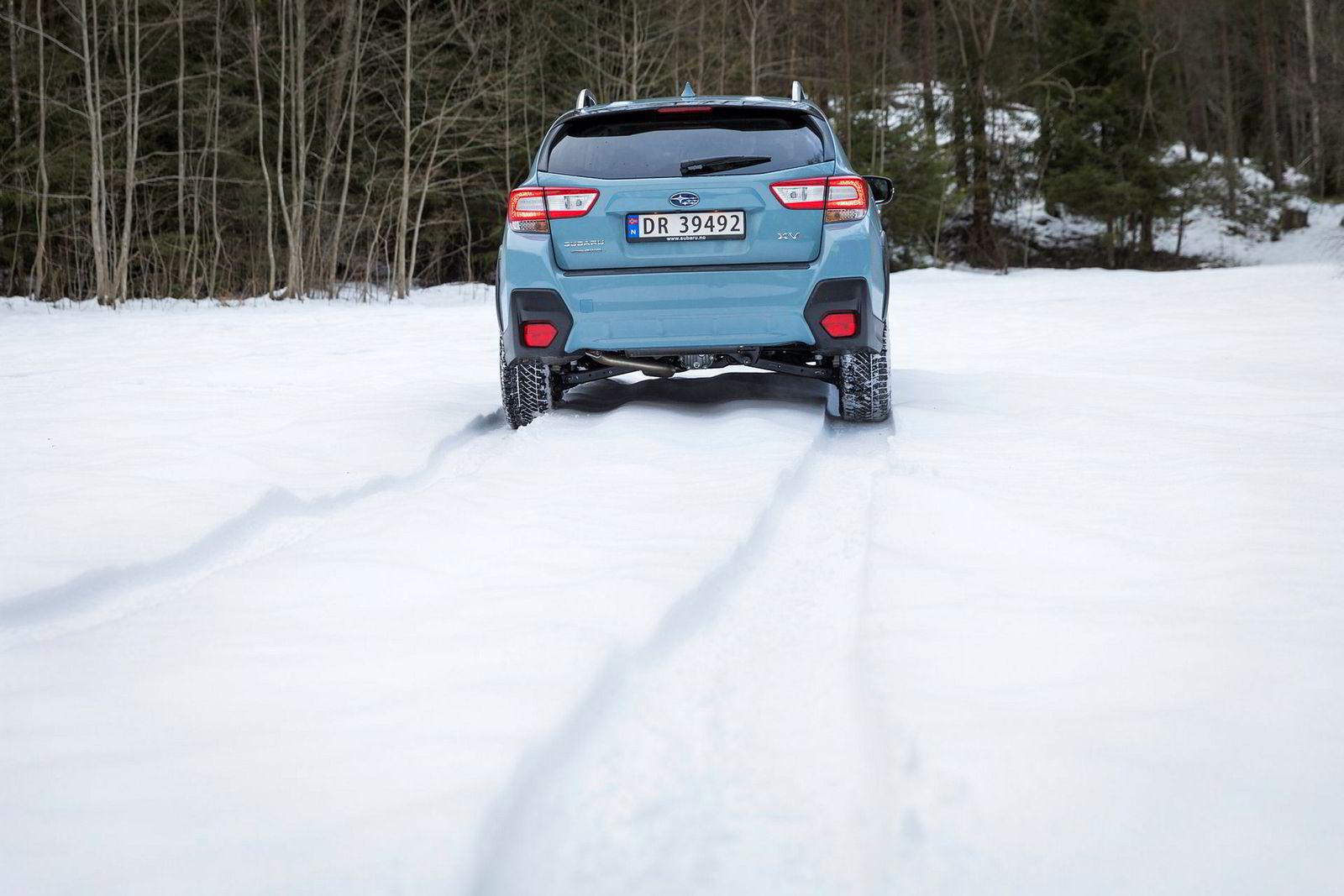 Den er neppe som Subaru sier «ustoppelig», men det skal mer til for å stoppe Subaru XV enn en Golf.