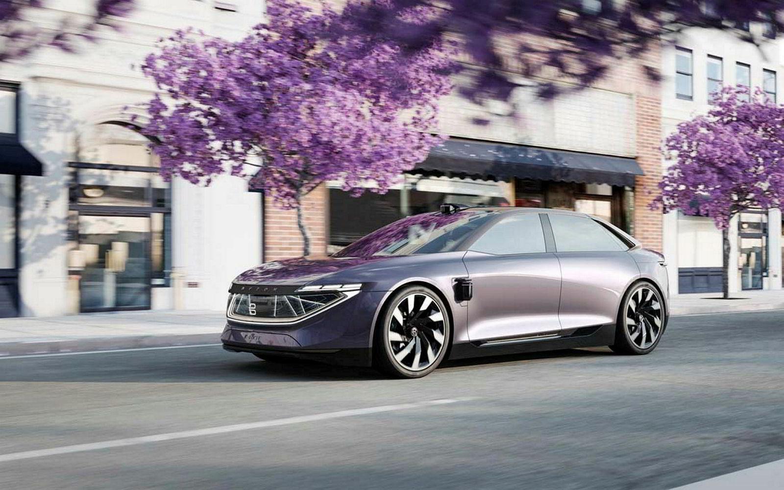 Konseptbilen Byton K-Byte skal komme i 2022.