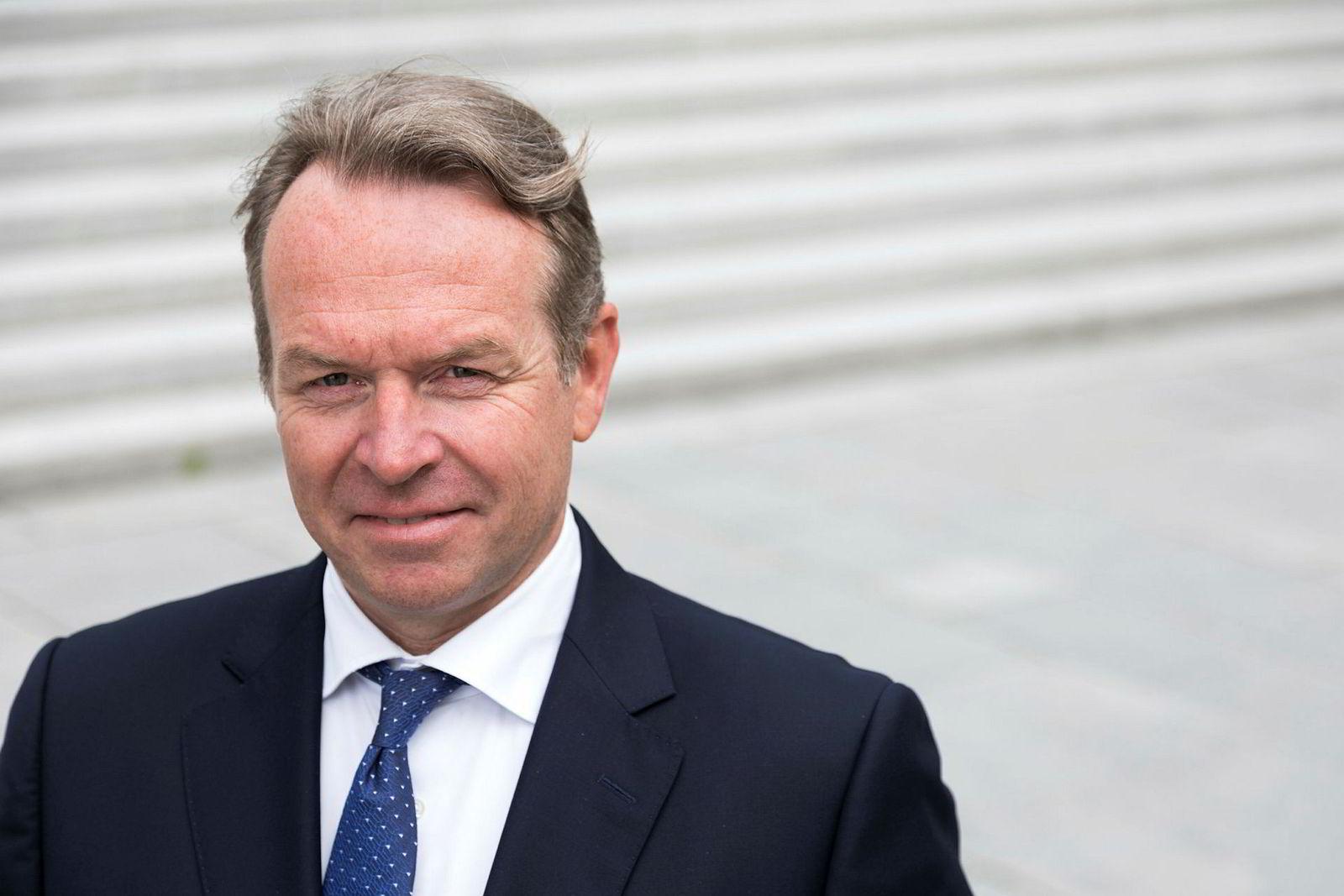 William Pauser banksjef i SEB Norge.