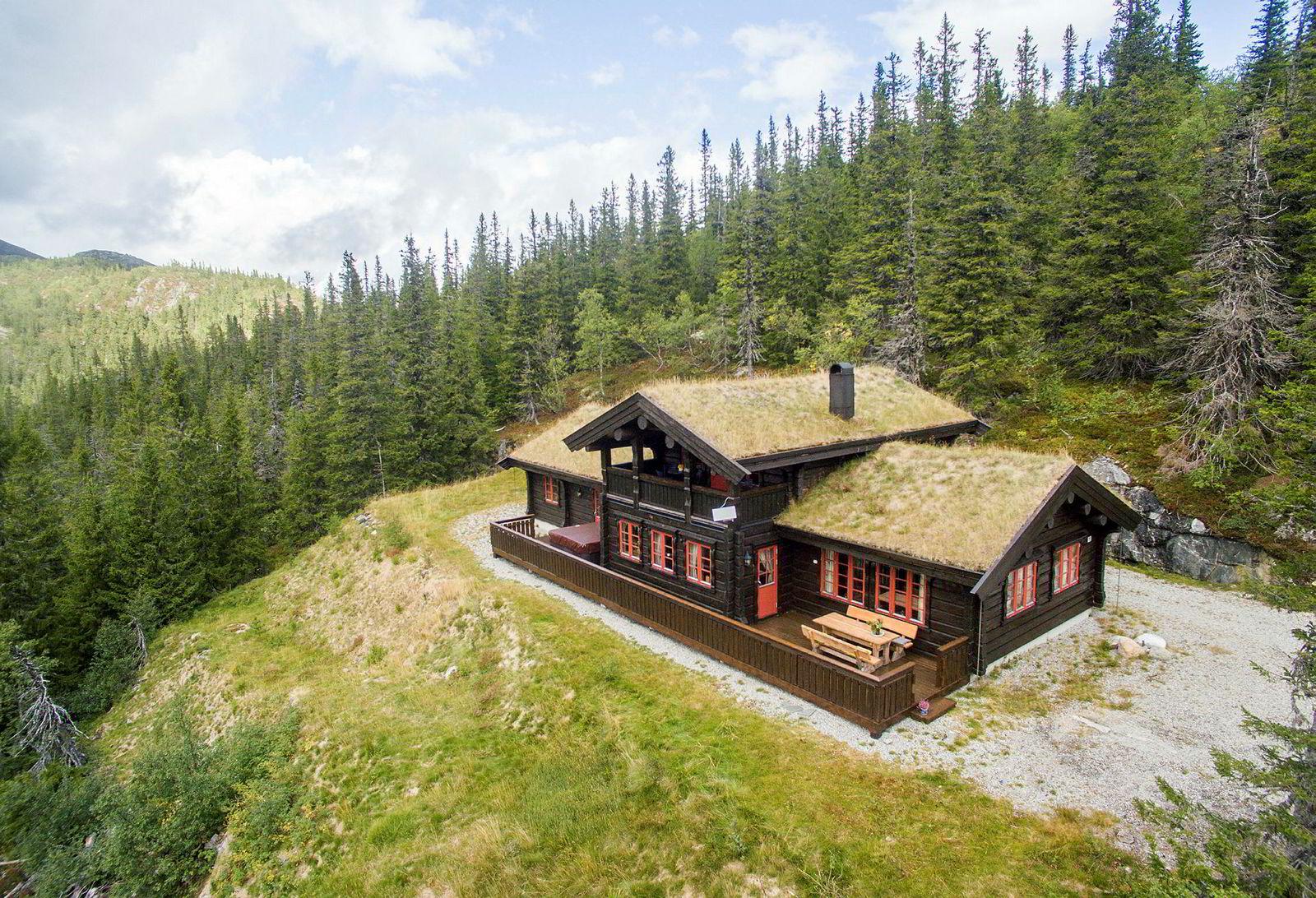 Denne hytta på Grantoppen i Flå kommune rommer 174 kvadratmeter og ble i 2018 solgt for 5.175.000 kroner.