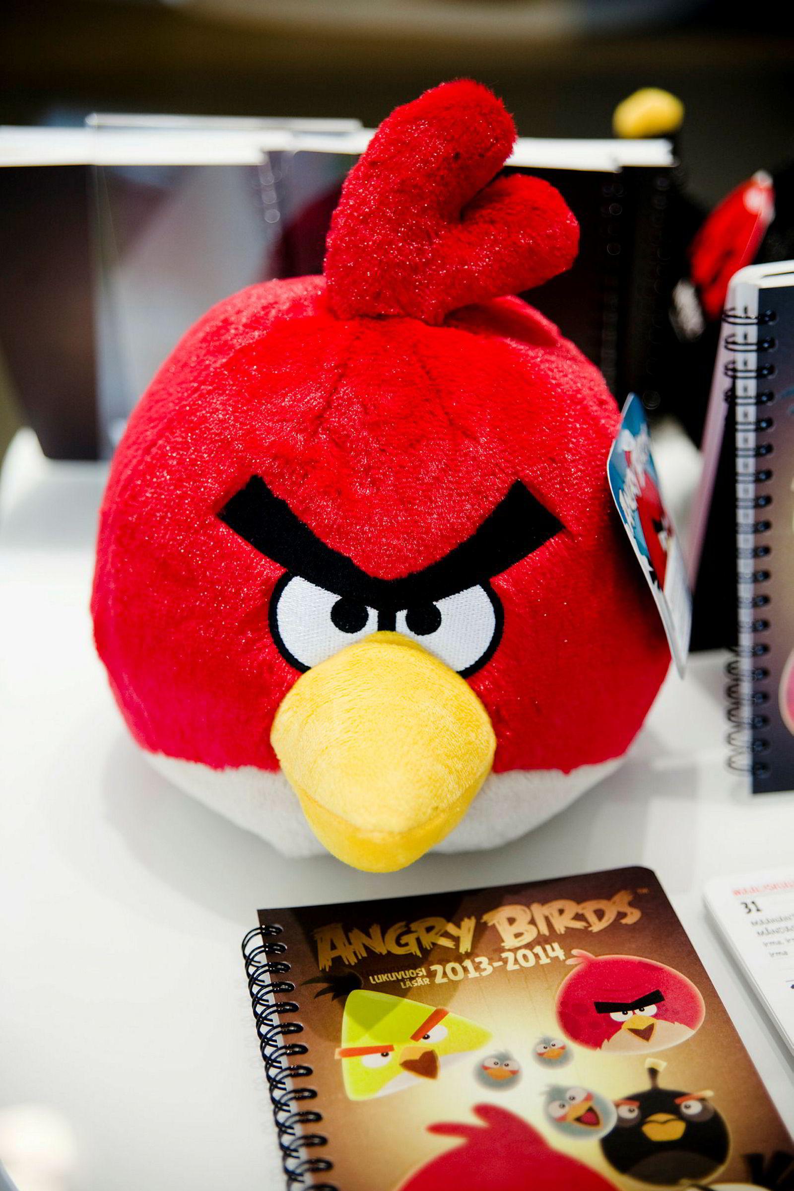Sint, men lykkelig. Det finske selskapet Rovio gjorde stor suksess med mobilspillet Angry Birds.