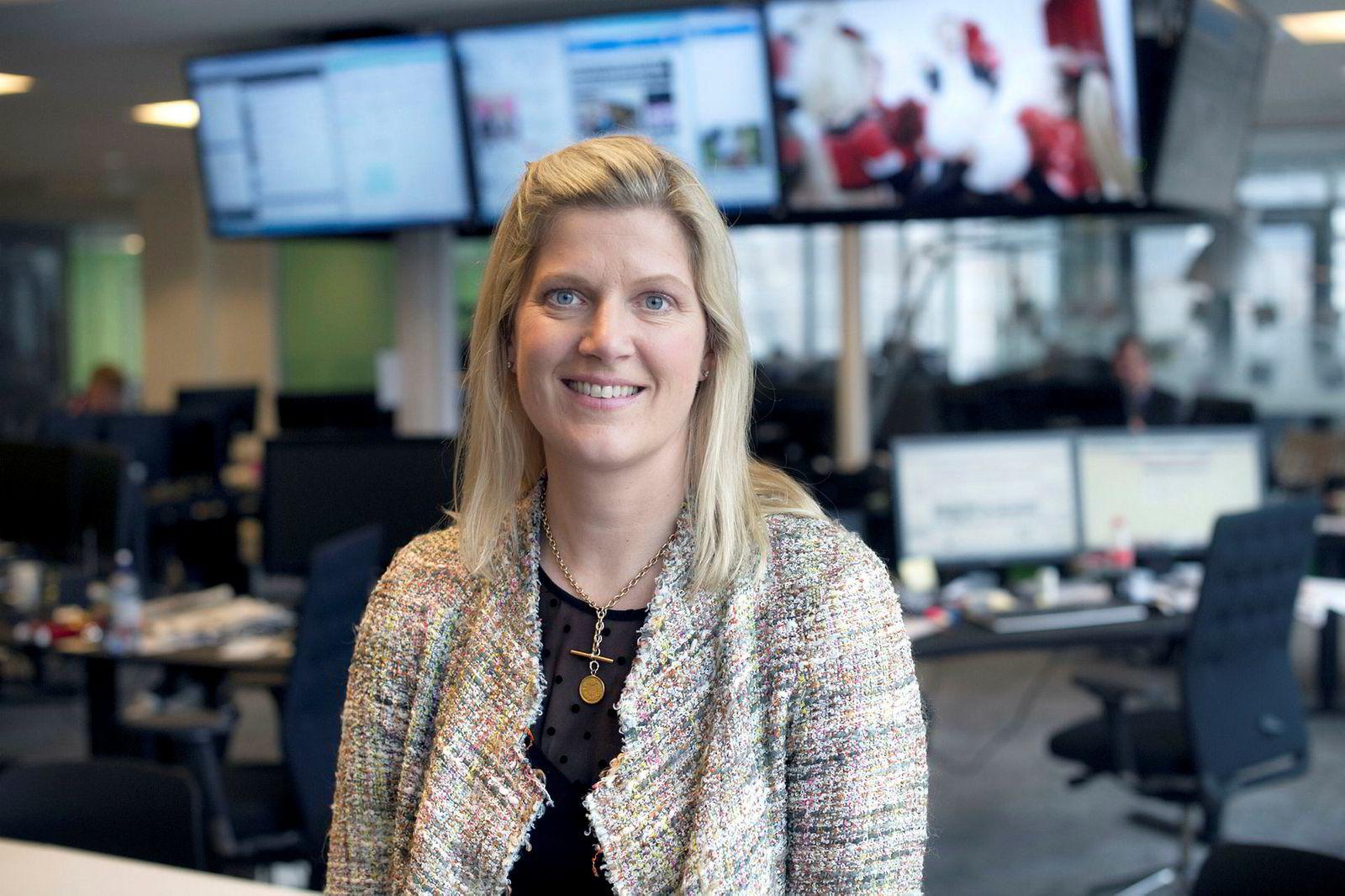 Victoria C. Schultz, konserndirektør for salg og marked i Amedia.
