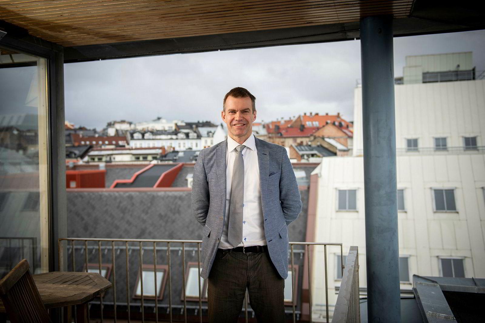 Erling Røed-Larsen er faglig leder ved det nye boligforskningssenteret på Oslomet.