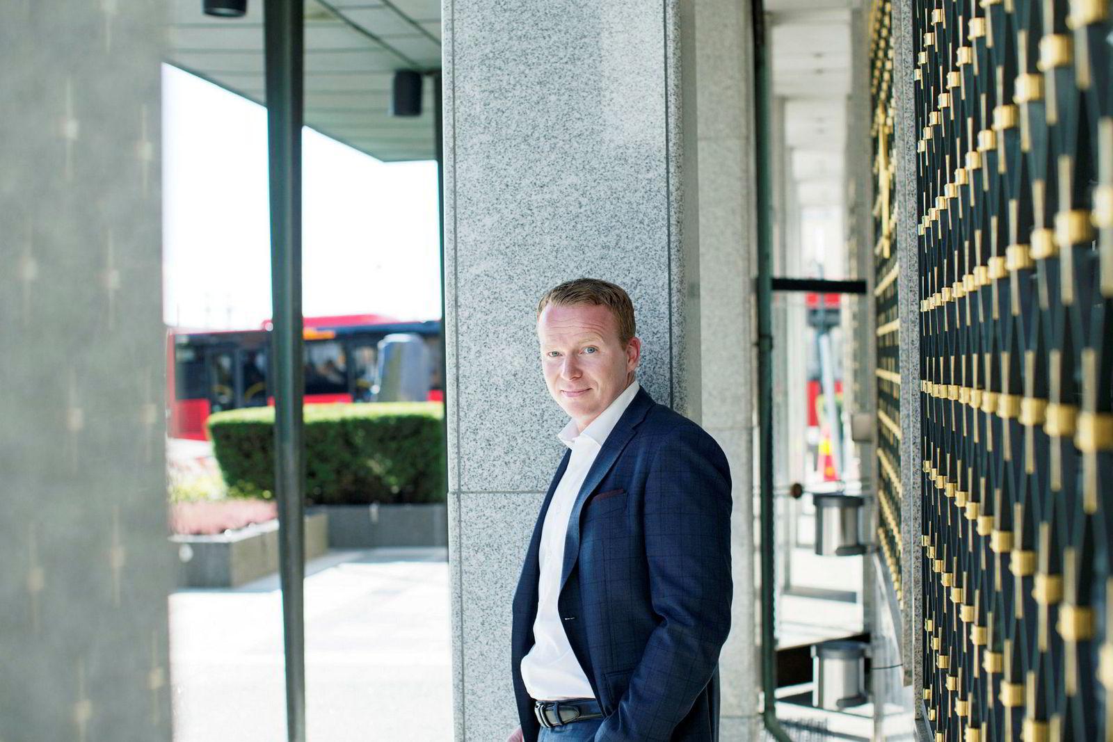 Analysesjef Lars-Daniel Westby, Sparebank 1 Markets.