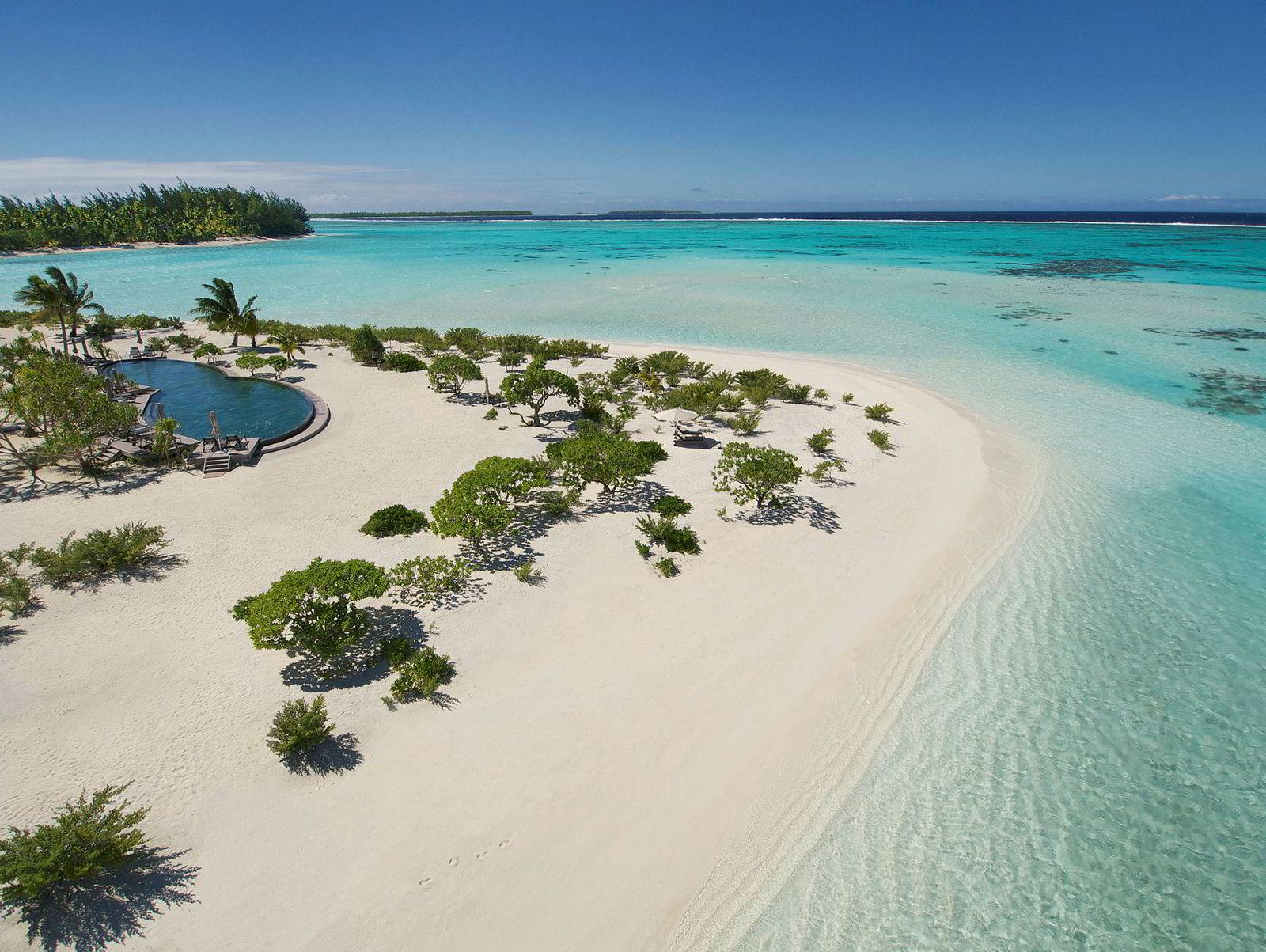 The Brando Island, Marlon Brandos øy i Stillehavet. Har du penger nok, kan du fint feriere her.