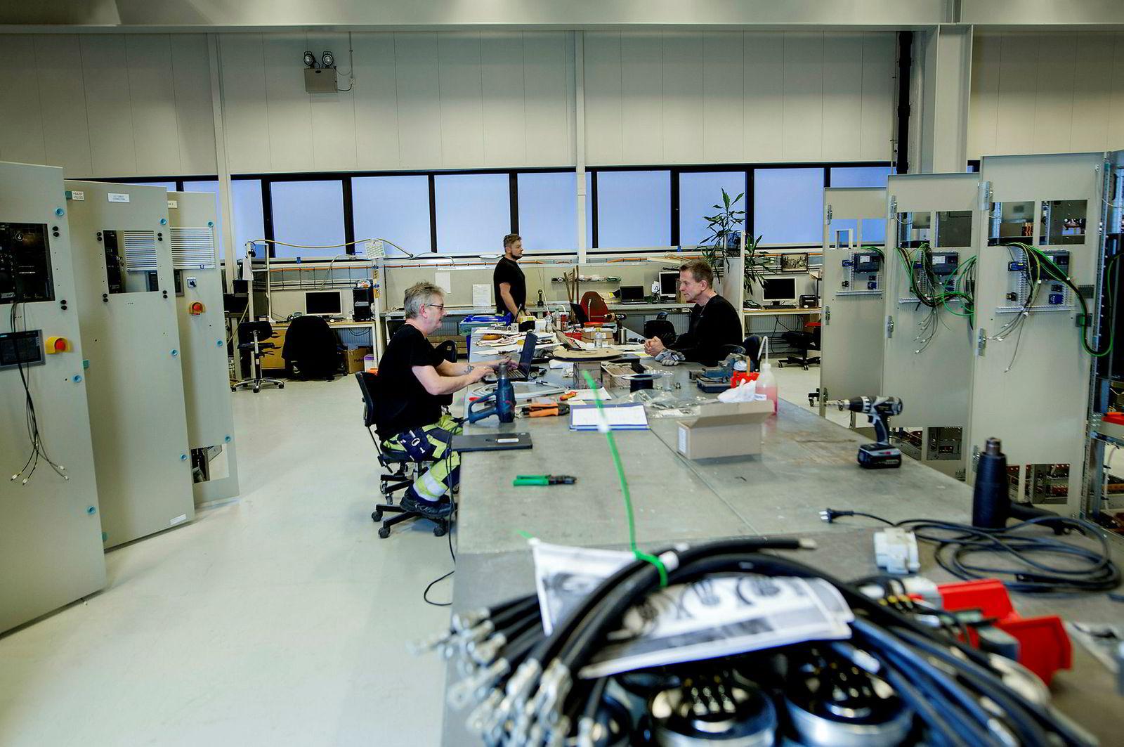Siemens har flyttet deler av forskningsavdelingen sin til Trondheim.