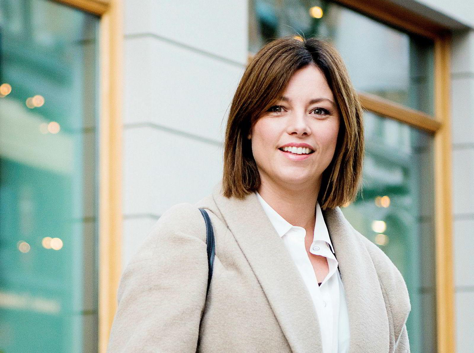 Organisasjons- og kommunikasjonsdirektør Sarah Willand i TV 2.