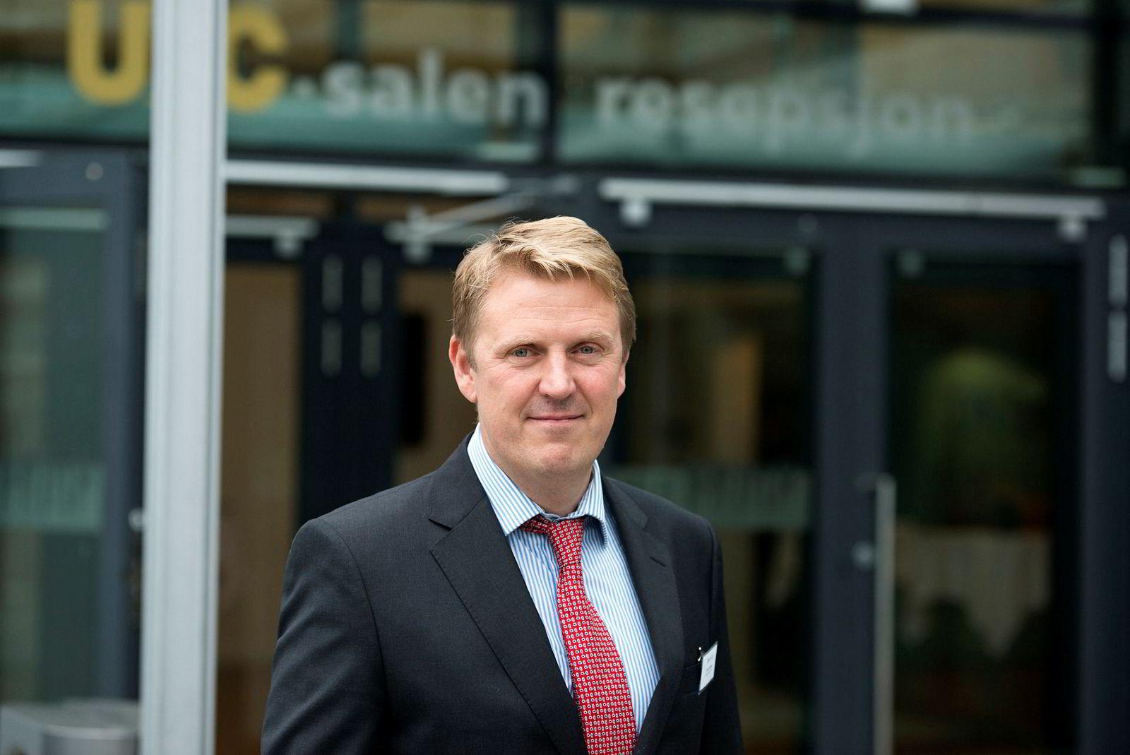 John Olaisen, oljeanalytiker i meglerhuset ABG Sundal Collier