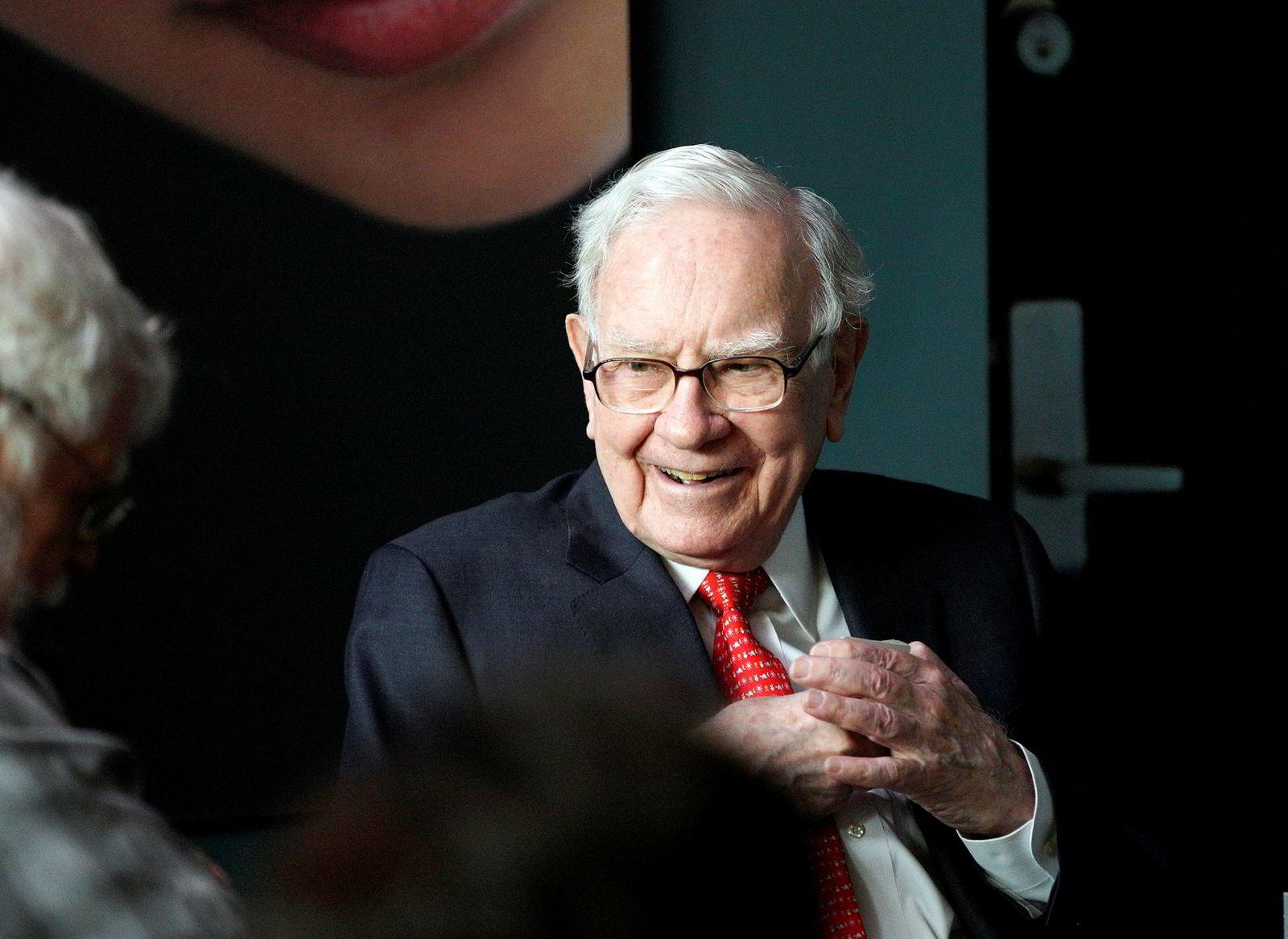 Milliardær Warren Buffett.