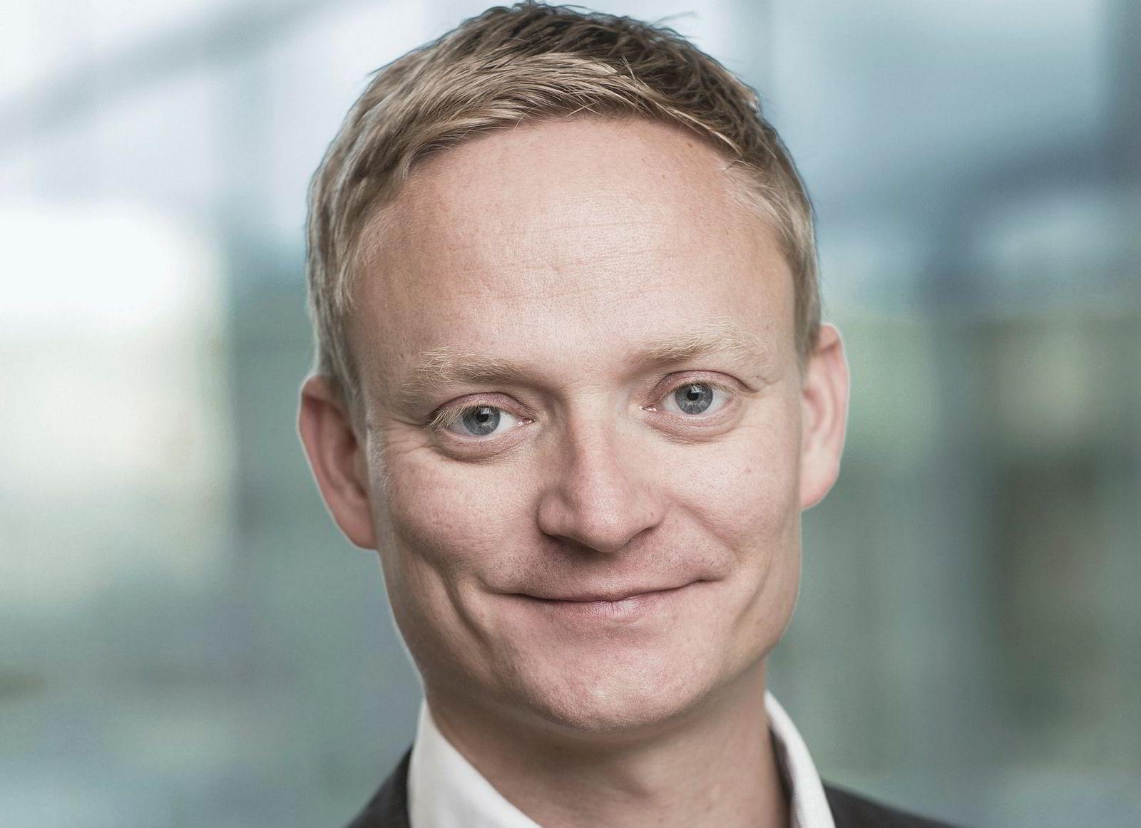Kai-Morten Terning, leder for kommunikasjon og samfunnskontakt i Bank Norwegian.
