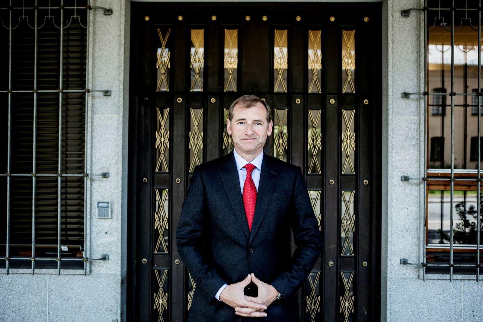 Administrerende direktør Carl O. Geving i Norges Eiendomsmeglerforbund