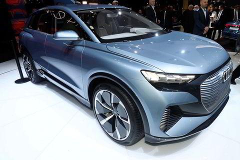 I slutten av 2020 kommer Audi Q4 E-tron i produksjon.