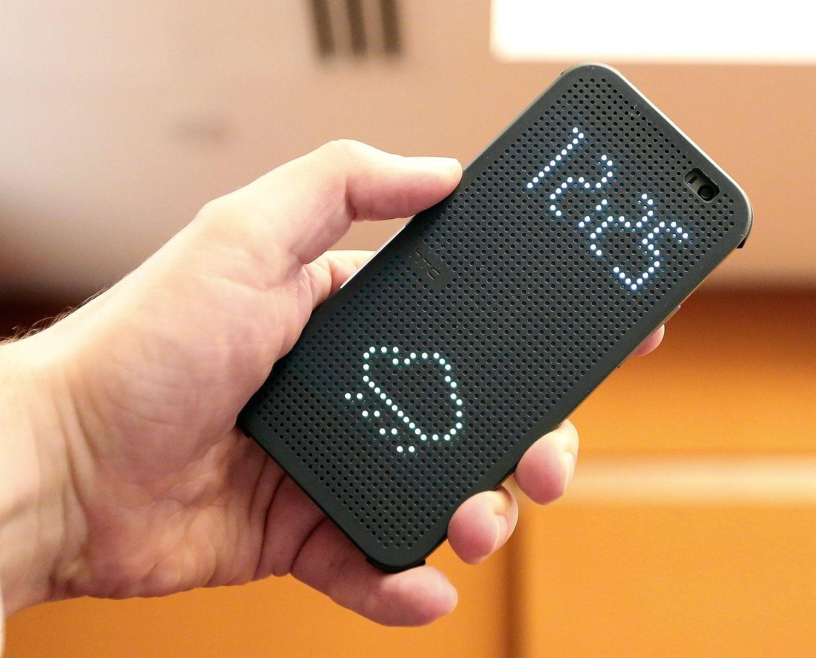 LEKKER DESIGN. HTC prøver ikke å lage Iphone, men de bruker mange av de samme ideene.