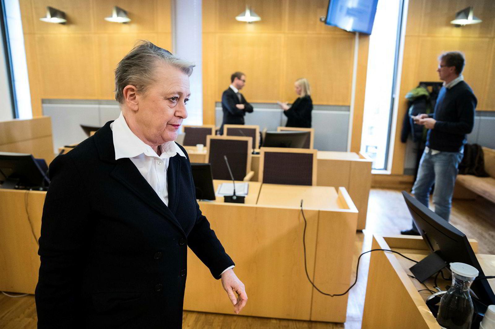 Advokat Berit Reiss-Andersen representerer den tidligere regnskapssjefen i Gartnerhallen som har innrømmet underslag av 49 millioner kroner.