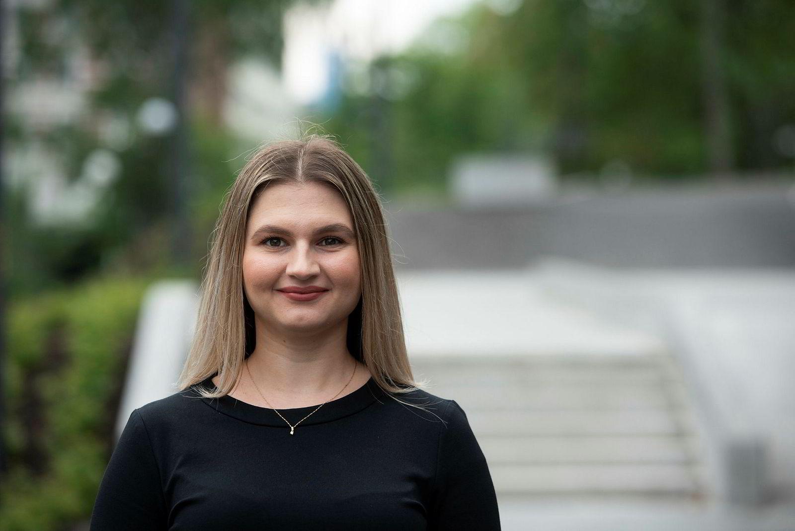 Alisa Mujanic gikk både på kurs for å lære å skrive søknader og fikk individuell karriereveiledning da hun var student.