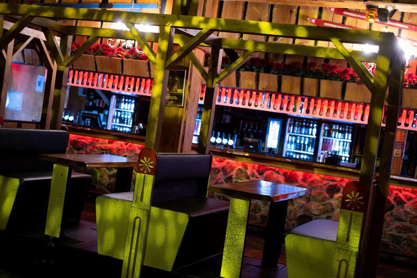 Heidi's Bier Bar i Trondheim er et av stedene som fikk utfordringer av mindre avanserte røykdetektorer.