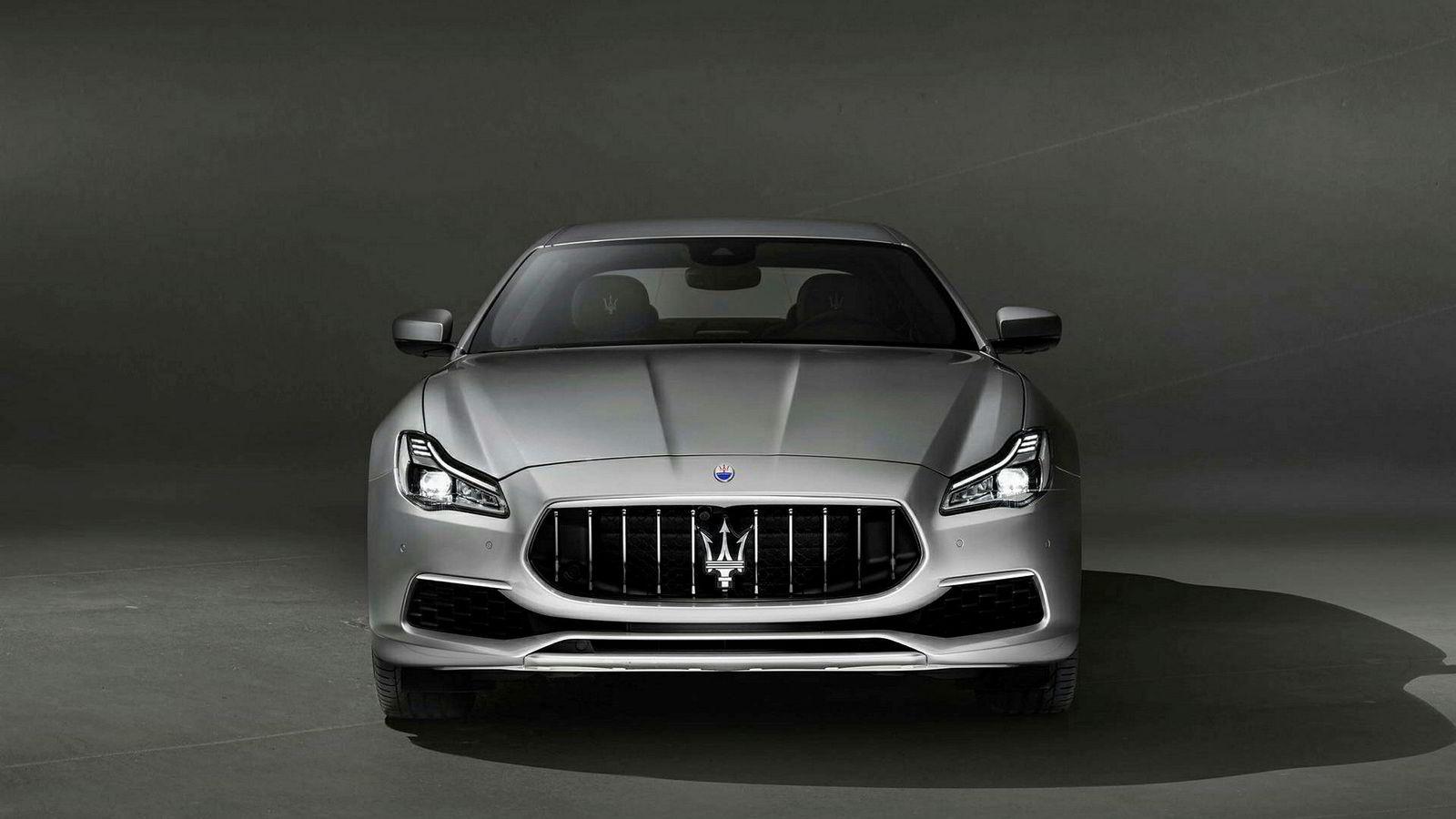 Den klassiske modellen Quattroporte har eksistert siden 60-taller. Foto: Maserati