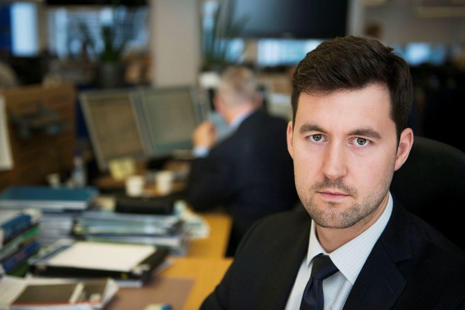 Analytiker og valutastrateg Joachim Bernhardsen, Nordea Markets.