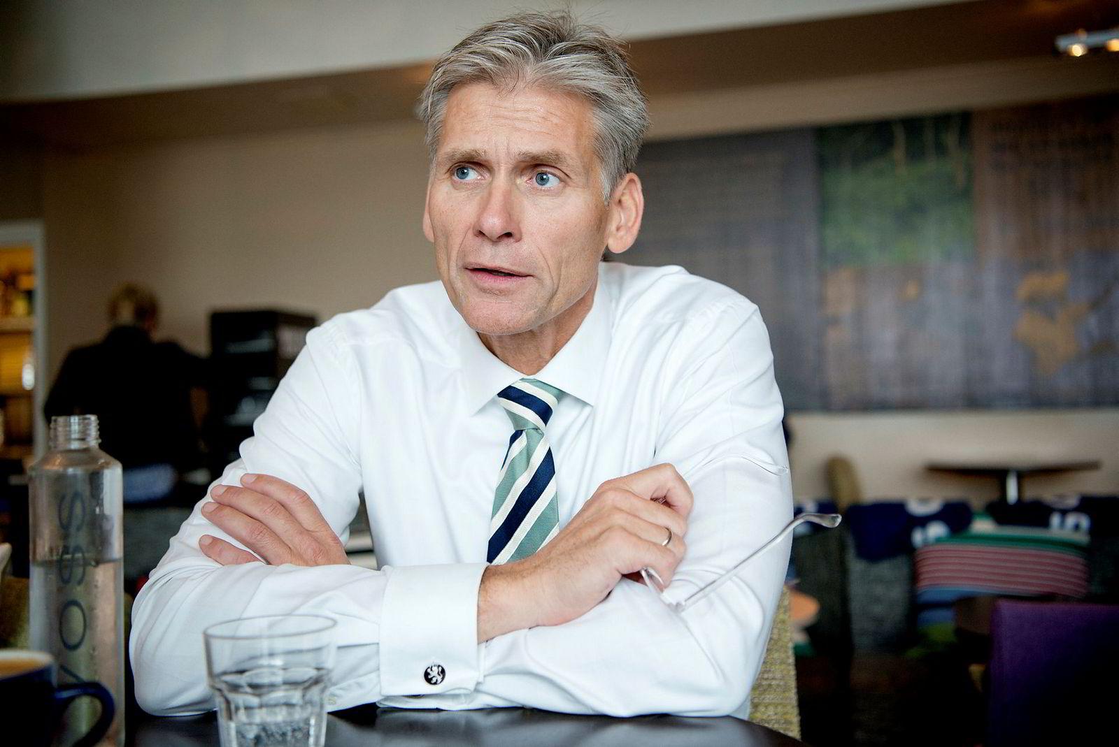 Thomas Borgen får med seg en sluttpakke på 17,5 millioner kroner.