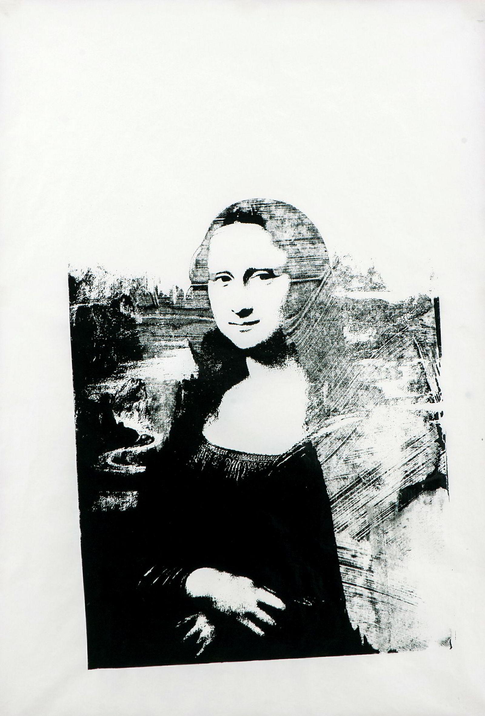 «Mona Lisa» ble solgt på Grev Wedels Plass Auksjoner i mai i 2018. Bildet har et spesielt opphav.