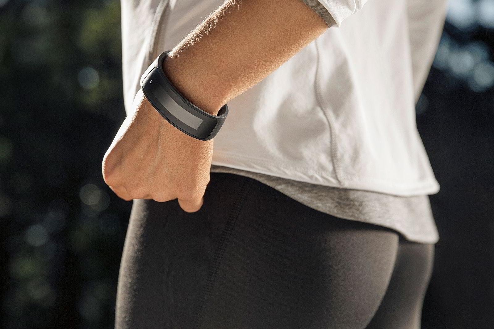 HTCs treningsarmbånd HTC Grip er laget i samarbeid med treningsgiganten Under Armour og benytter deres eksisterende plattform for trening og ernæring.