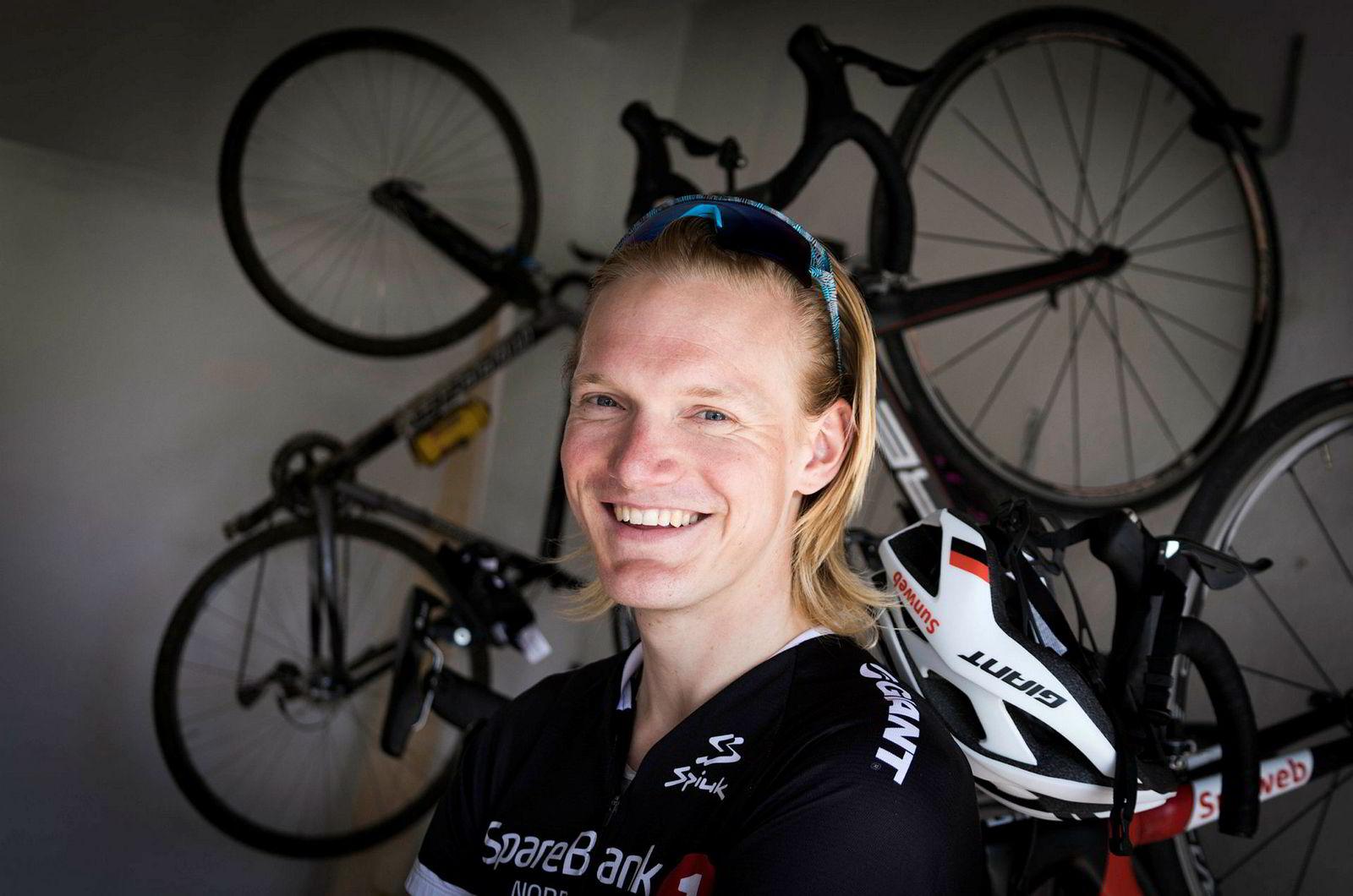 Dan Erik Hansen retter hele livet inn mot sykkelsatsingen. Han føler fjoråret var et lite gjennombrudd for nivået hans.