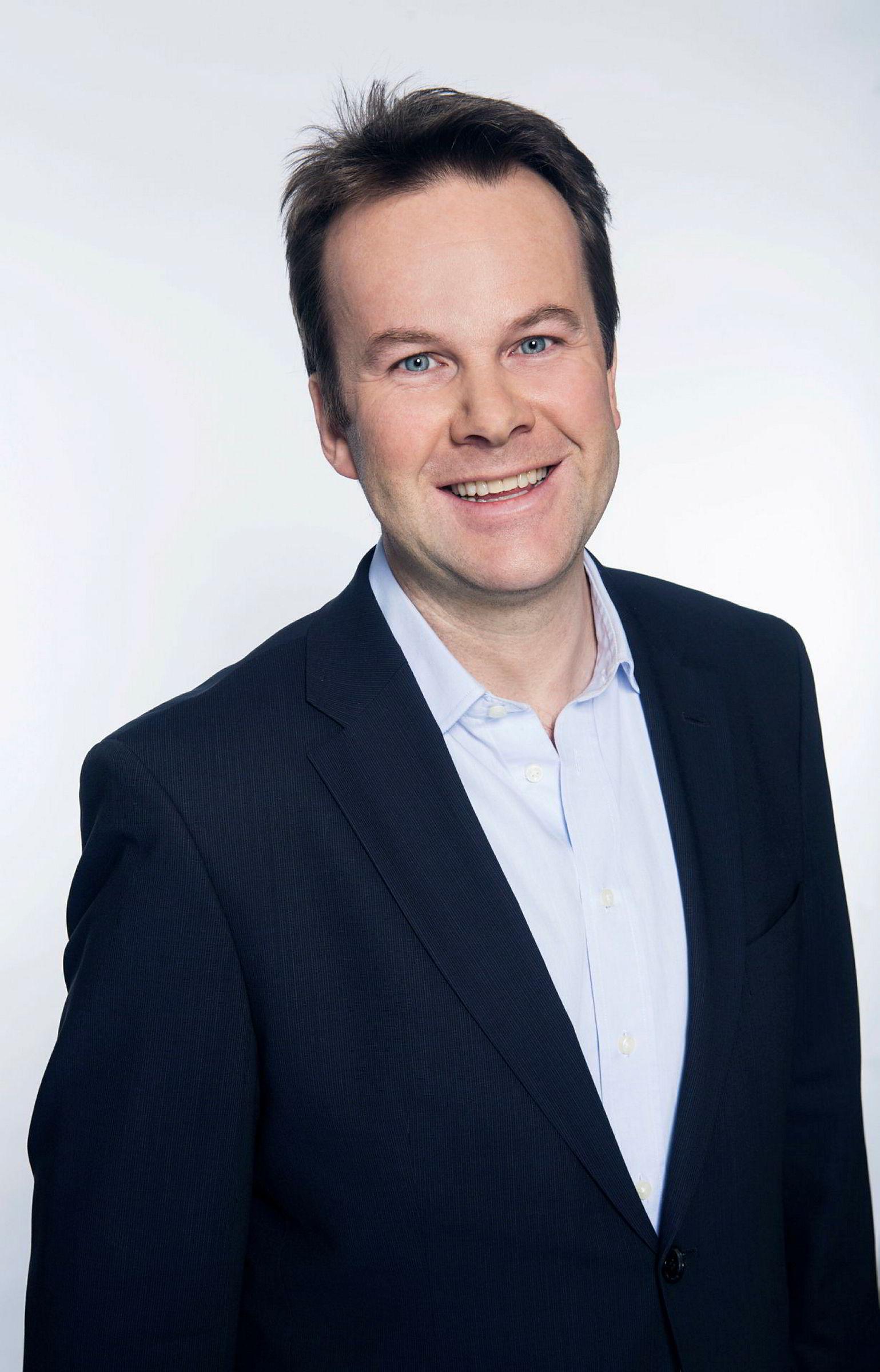 Kommunikasjonsdirektør Henning Lunde i Telia Norge.