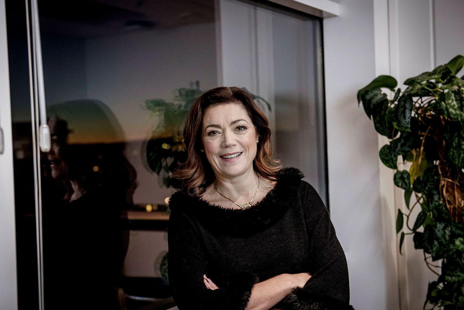 Konsernsjef Kristin Skogen Lund i Schibsted tok selskapet til toppen av årets She-indeks.