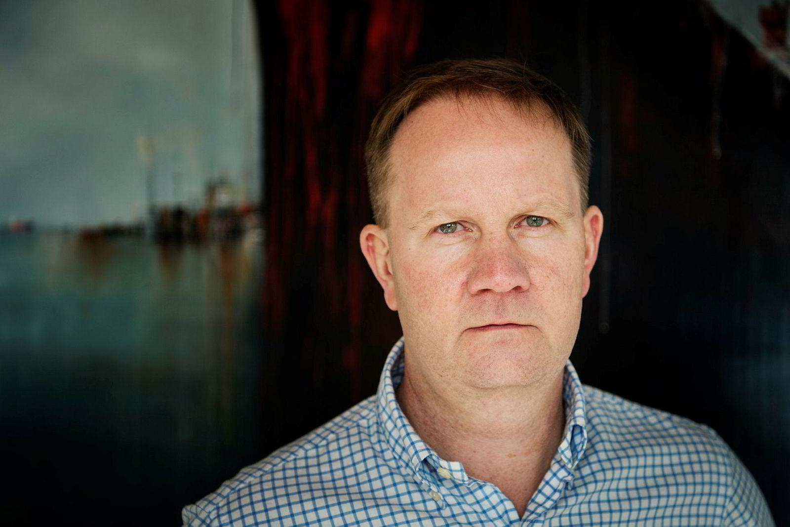 Solstad Offshore-sjef Lars Peder Solstad.