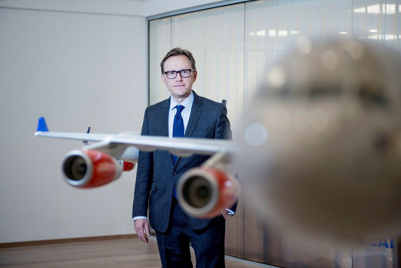 Finansdirektør Torbjørn Wist i SAS.