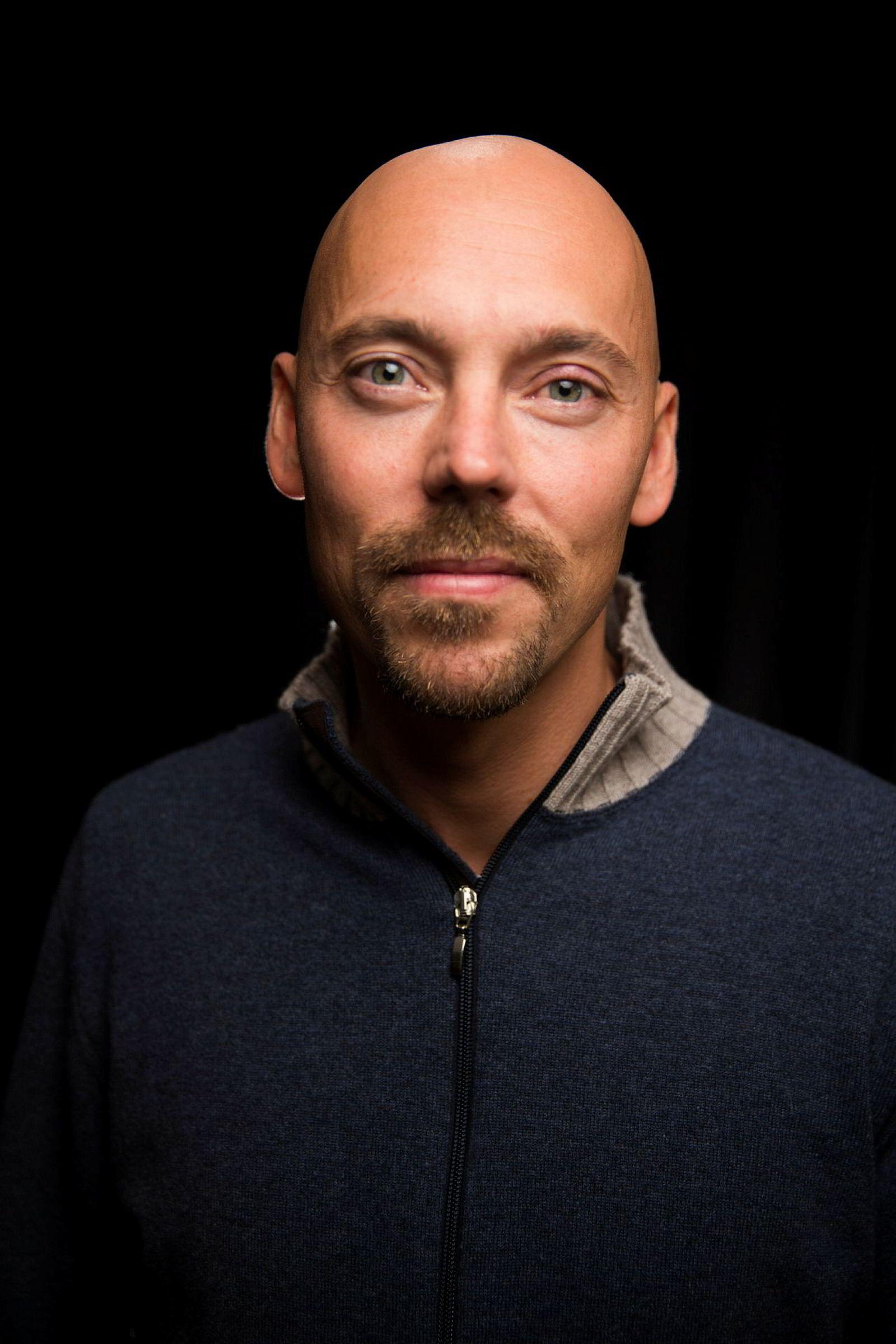 Håkon Briseid er daglig leder i Monster Scripted og produsent for «Grenseland».