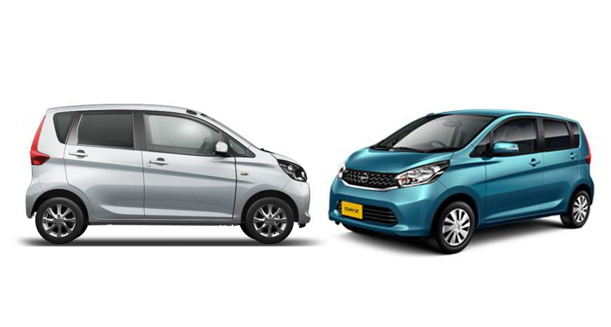 Mitsubishi eK Wagon og Nissan Dayz