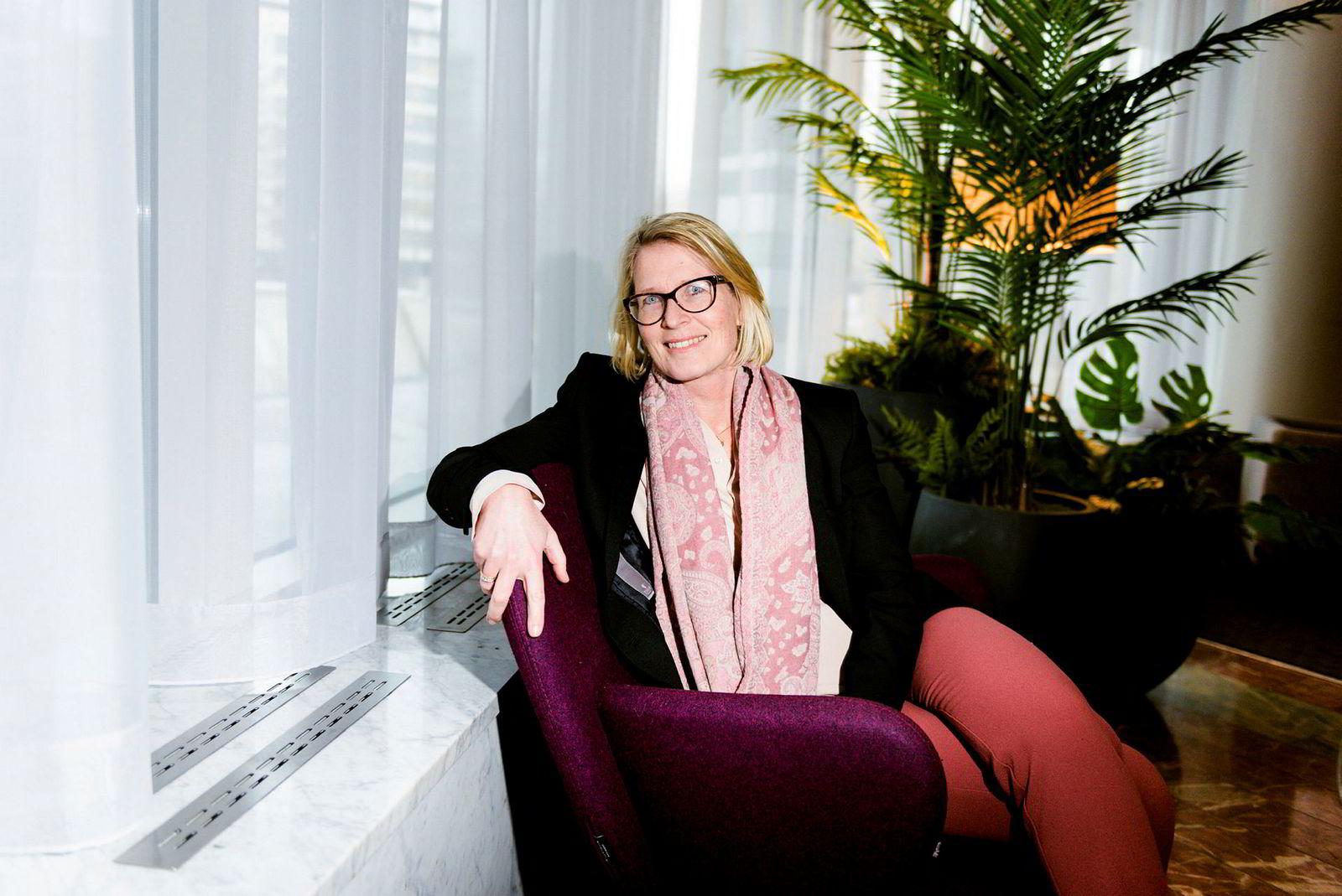 – Fra oktober av er 33 prosent av Telenors konserndirektører kvinner, sier Telenors hr direktør, Cecilie Blydt Heuch.