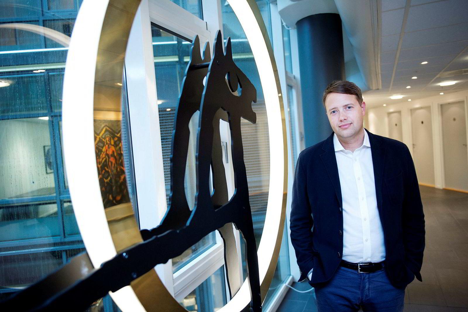 – Vi benytter børsfall til å kjøpe mer av de selskapene vi allerede eier, sier Vegard Søraunet, investeringsdirektør i Odin.