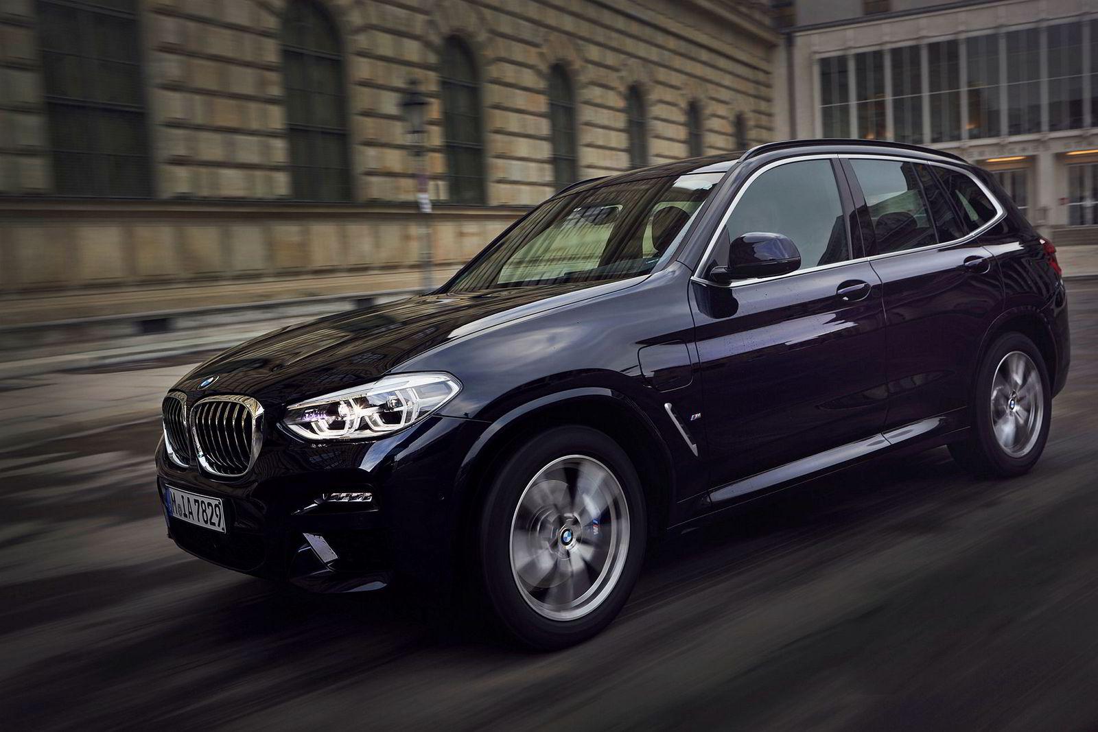 BMW X3 kommer endelig som ladbar hybrid.