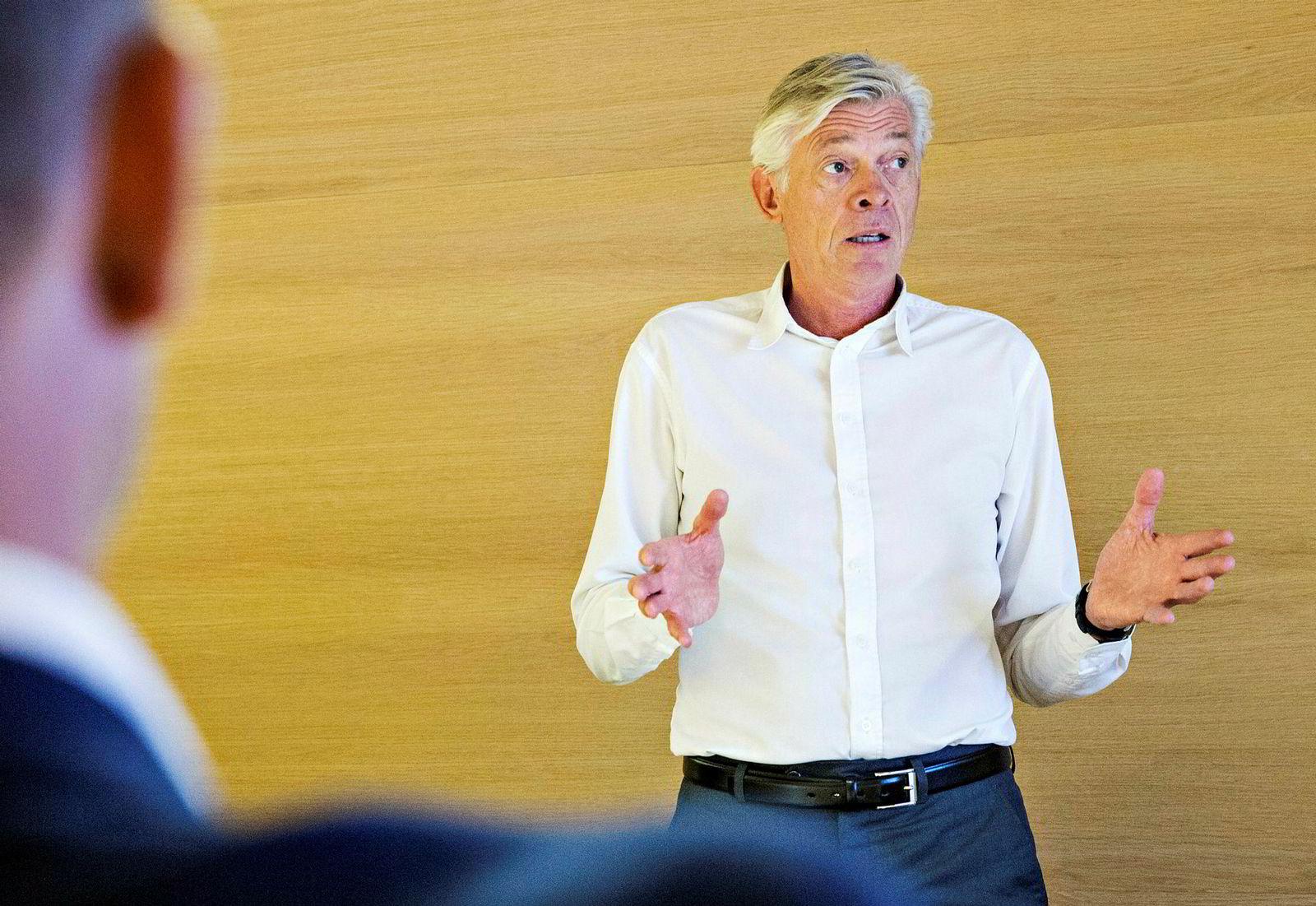 DNB Eiendom-sjef Terje Halvorsen.