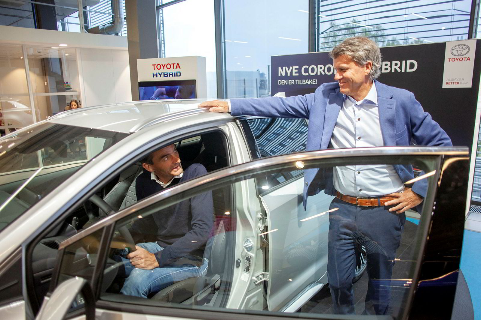 Ifølge Baumann og Guthus har Bauda aldri solgt flere biler enn hittil i år, med 2570 kontrakter i første kvartal. I fjor solgte konsernet 6609 Toyota og 412 nye Lexus.