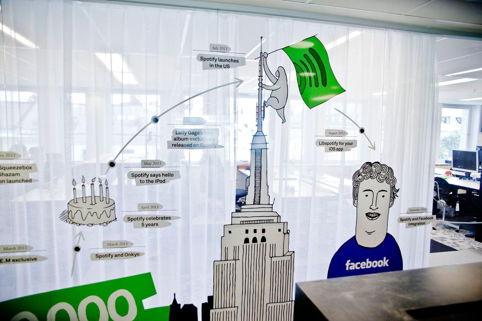 Spotifys økte sine inntekter med imponerende 80 prosent i 2015.