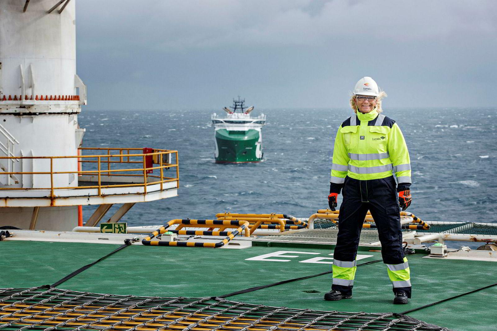 Lundins administrerende direktør Kristin Færøvik (til venstre) advarer mot å fjerne leterefusjonsordningen.