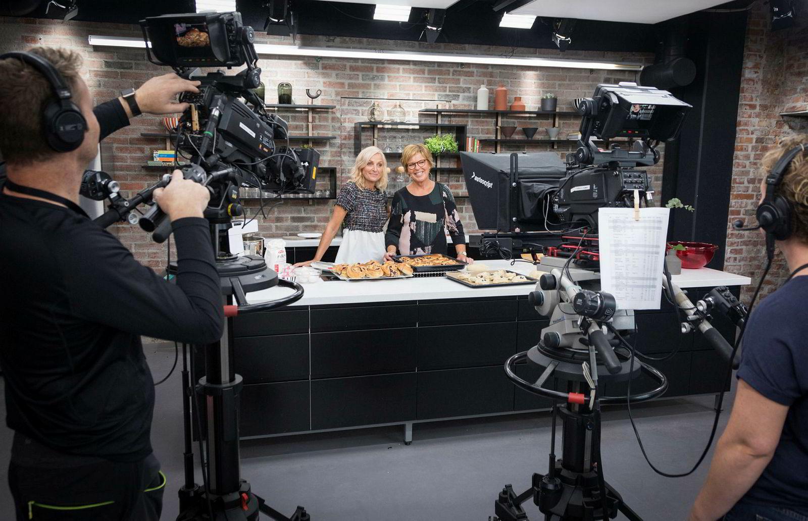 Programlederne Vår Staude og tv-kokk Wenche Andersen slipper å bli med over til Mastiff.