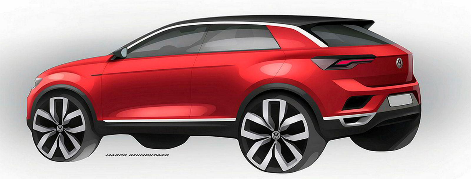 Volkswagen T-Roc vises senere i august.