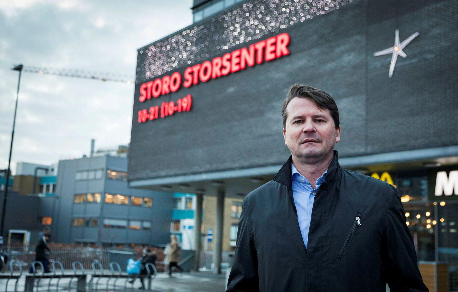 – Virksomheter innen klær, sko og servering, er det vi oppfatter er hardest rammet, sier visekonsernsjef Ole-Christian Hallerud i Olav Thon-gruppen.