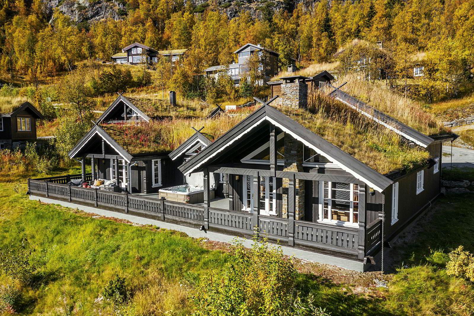 Vardetunet i Hemsedal ble solgt etter bare noen dager. Den lå ute med en prisantydning på 12,5 millioner kroner.
