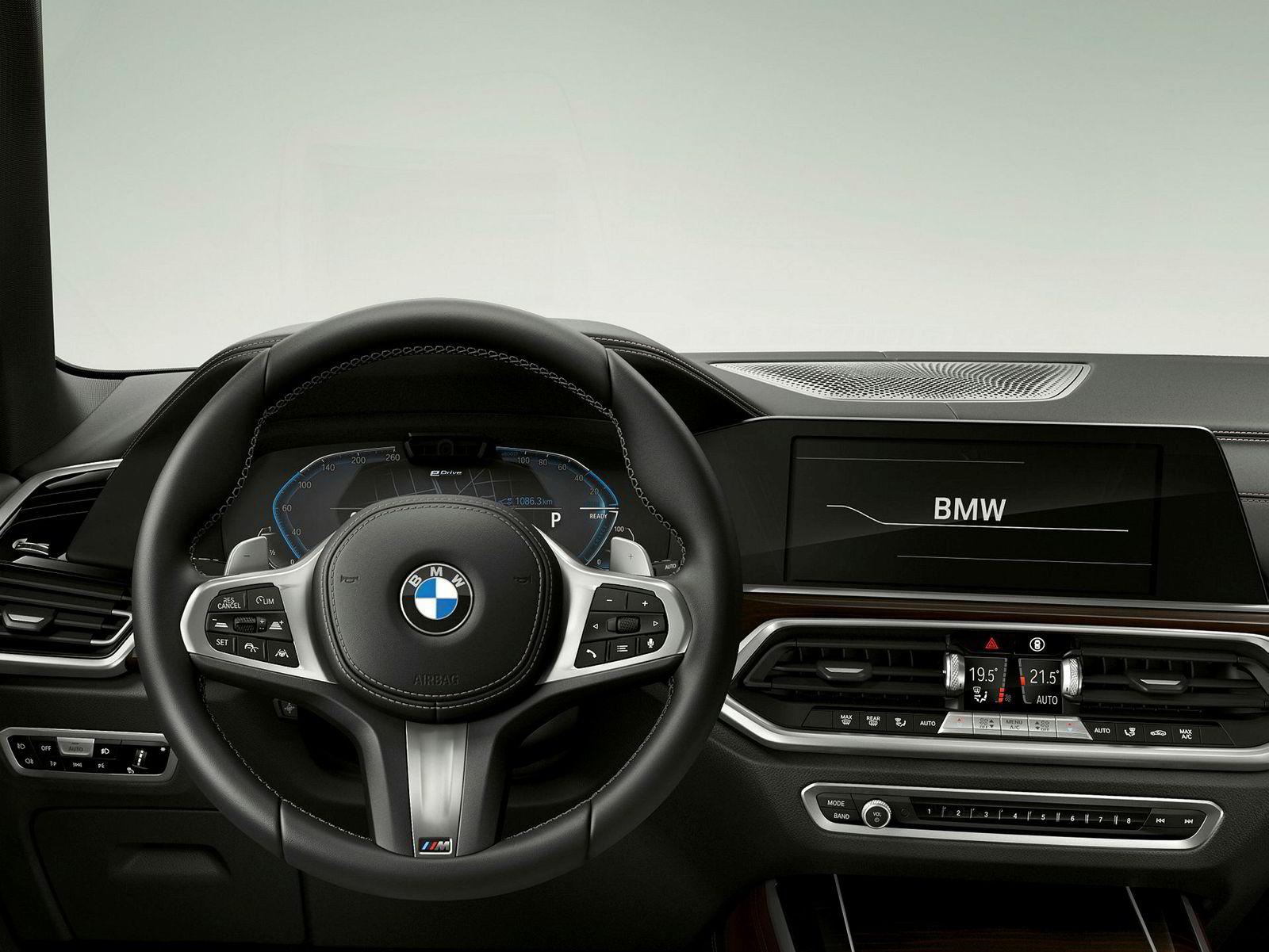 Innvendig er dette klassisk BMW.