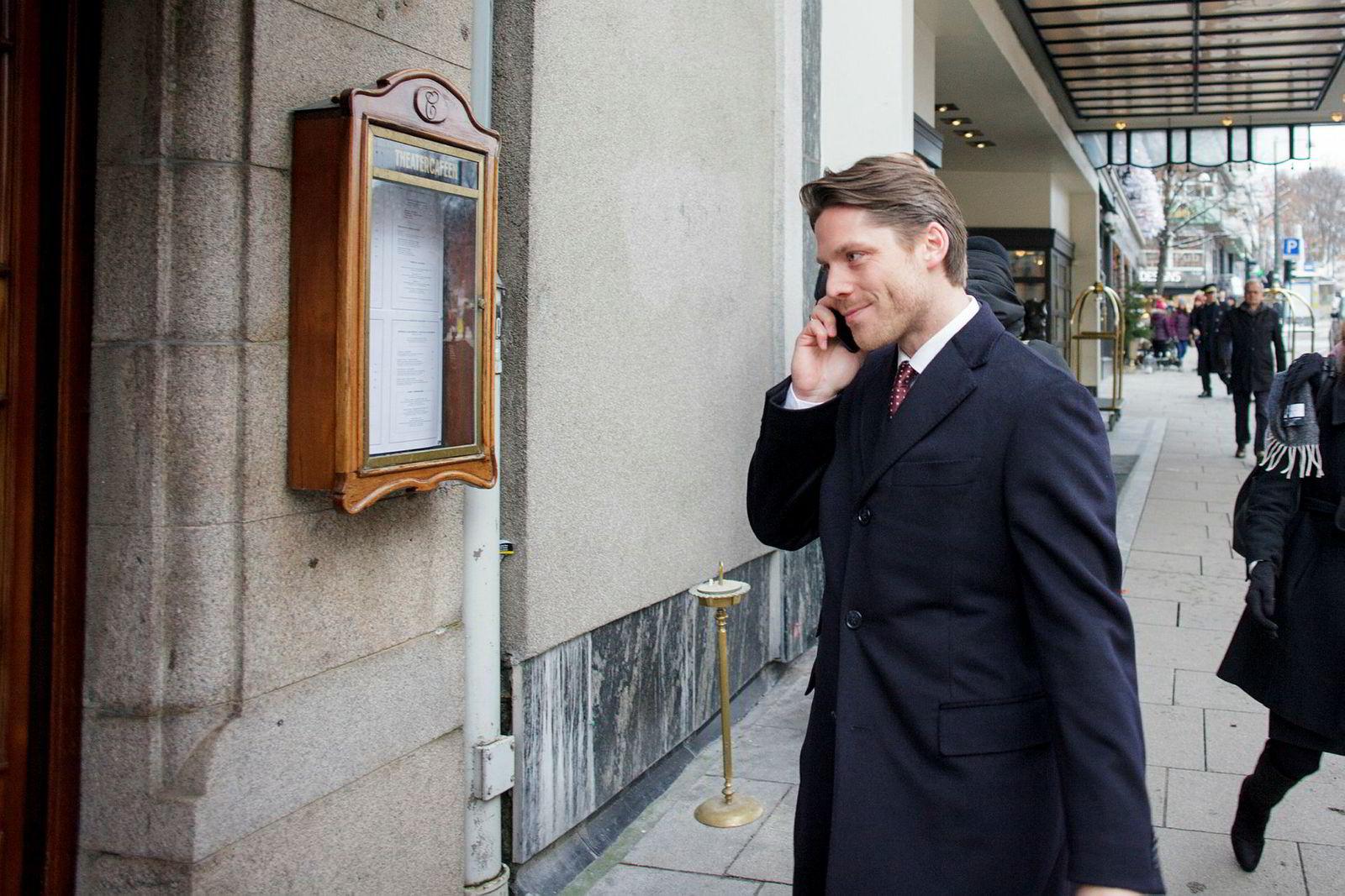 Fredriksen-ansatt og tidligere finansjournalist Mats Langaard.