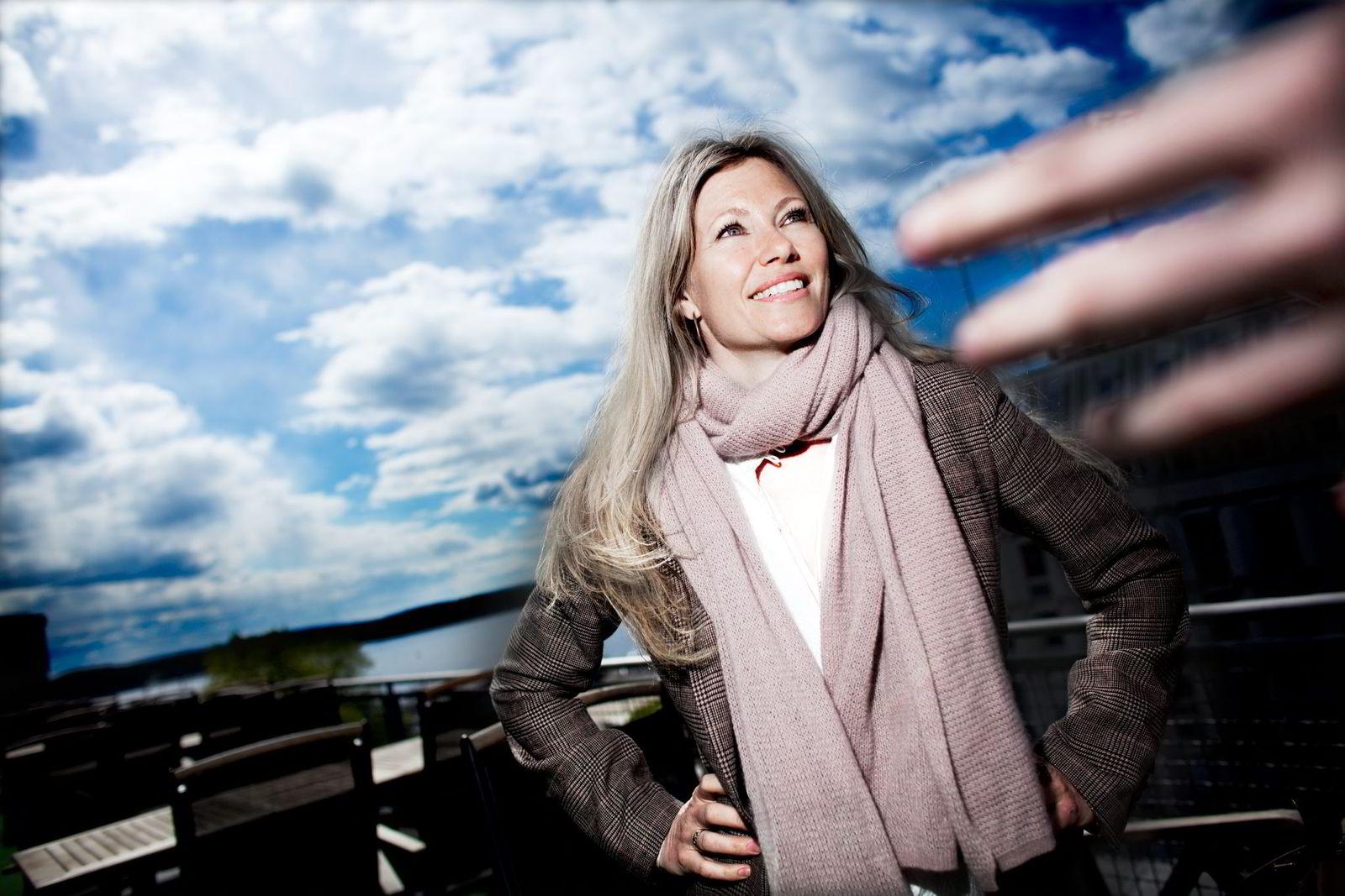 GRÜNDEREN. Siri Kalvig investerte 95.000 kroner i Storm Weather Center på 90-tallet.